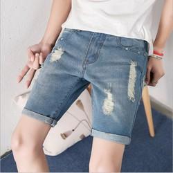 Quần Shorts Jeans Hàn Quốc - Tôn dáng đẹp - Qs31