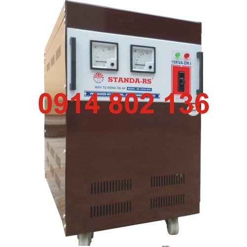 ỔN ÁP STANDA 15KVA dải từ 90V đến 250V