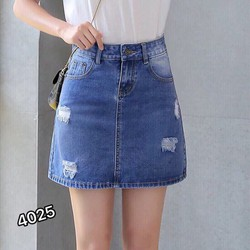 ⚡️[CHỈ 1 NGÀY] Chân Váy Jeans Chữ A Thời Trang