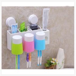 Dụng cụ nhả kem đánh răng tự động tặng 3 cốc