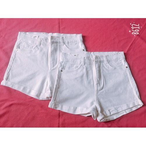 Quần short jeans kaki nữ màu trắng - 5468228 , 9166349 , 15_9166349 , 139000 , Quan-short-jeans-kaki-nu-mau-trang-15_9166349 , sendo.vn , Quần short jeans kaki nữ màu trắng