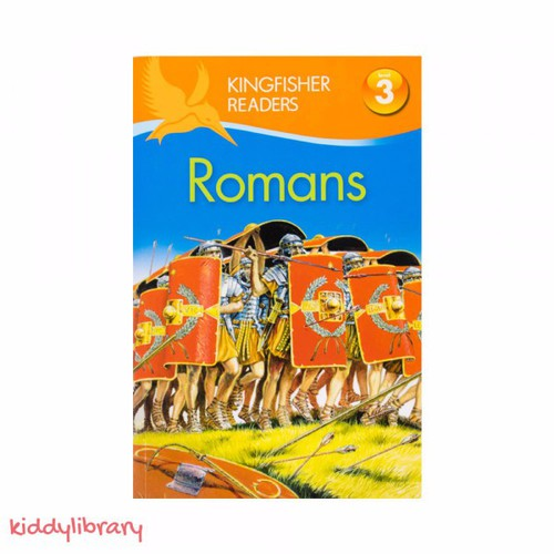 Sách tiếng Anh tập đọc hay Kingfisher Readers Romans