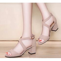 Giày sandal nữ thời trang, phong cách nữ tính, kiểu dáng xinh xắn