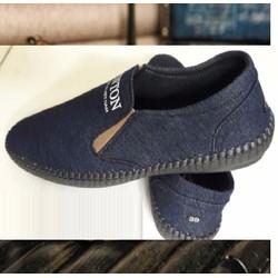 Giày mọi nam thời trang, thiết kế mới nam tính mẫu Hàn trẻ trung