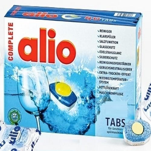 Alio 40 viên - viên rửa bát Alio dùng cho máy rửa bát,hàng nhập Đức