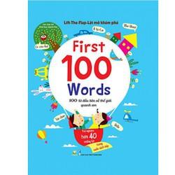 Lật mở khám phá - 100 từ đầu tiên về thế giới quanh em