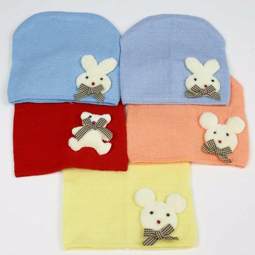 Mũ len đẹp cho bé cho bé từ 0-6 tháng. Nón len cho bé