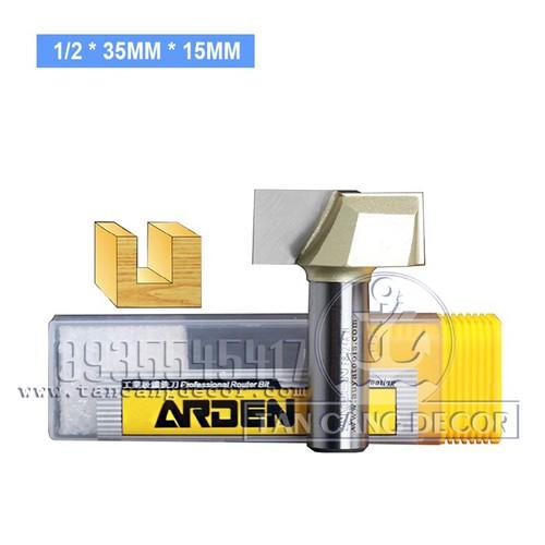 Mũi Router Lấy Nền Arden 35 x 15 mm Cốt 12.7 mm - 5524170 , 9284027 , 15_9284027 , 335000 , Mui-Router-Lay-Nen-Arden-35-x-15-mm-Cot-12.7-mm-15_9284027 , sendo.vn , Mũi Router Lấy Nền Arden 35 x 15 mm Cốt 12.7 mm