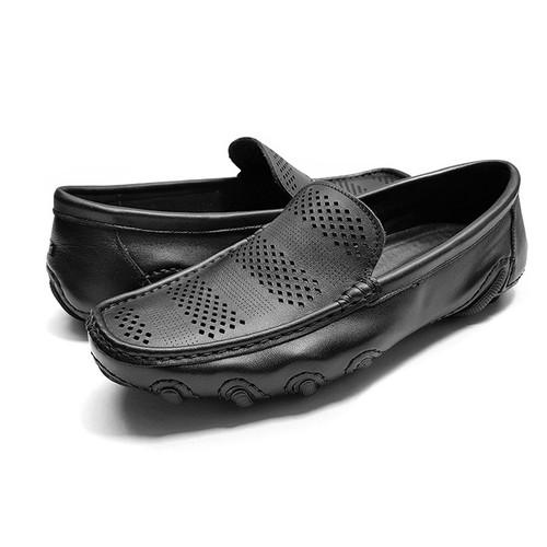 Giày Mọi Nam Ensado GM58 – 2 Màu - Đen – Nâu