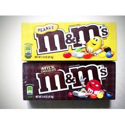 Combo 2 hộp kẹo socola mm của Mỹ