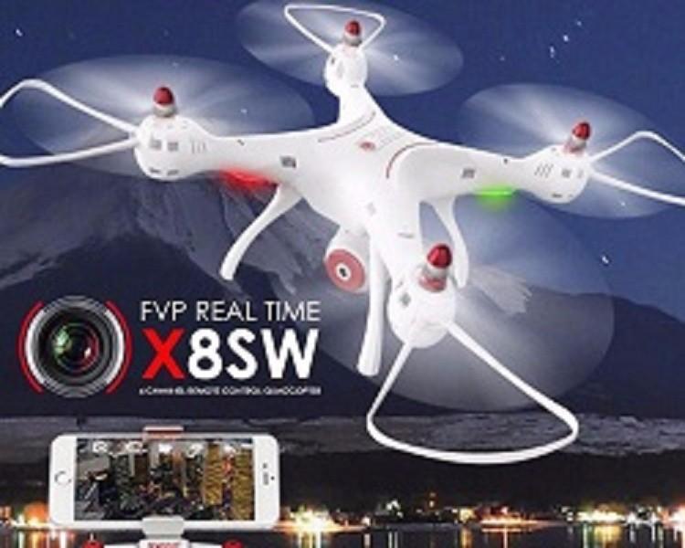 Flycam Drone Syma X8SW - Hàng cao cấp - Đời mới