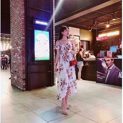 Đầm maxi đi biển thời trang