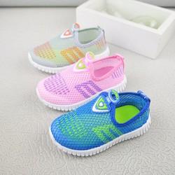 Giày  đế mềm  lưới thoáng mùa hè cho bé