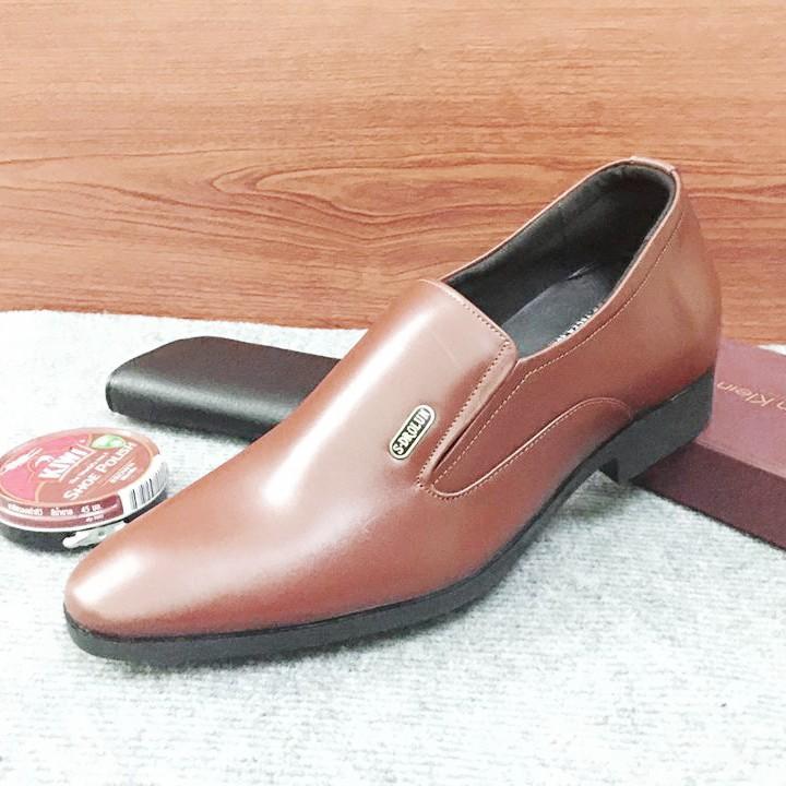Giày tăng chiều cao nam G310Nmàu nâu lịch lãm 8