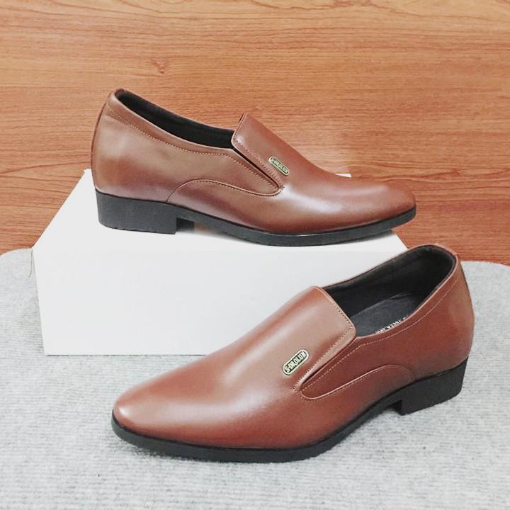 Giày tăng chiều cao nam G310Nmàu nâu lịch lãm 7
