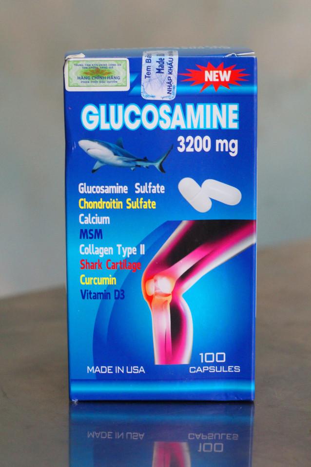 Glucosamine 3200mg - Hổ Trợ Xương Khớp 1