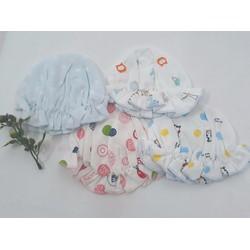Mũ vải đẹp cho bé sơ sinh