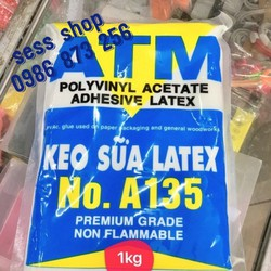 keo sữa ATM loại 1kg nguyên liệu làm slime 40k