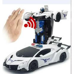 Xe ô tô biến hình Transfomer có cảm biến cao cấp