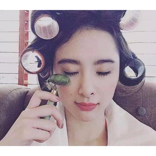 Cây Lăn đá cẩm thạch massage mặt giảm thâm mắt