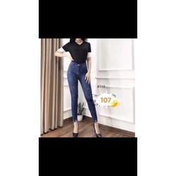 quần jean nữ cào nhẹ kiểu