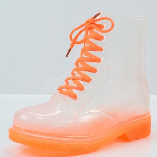 giày boot nữ trong suốt Mã: GC0254 - CAM
