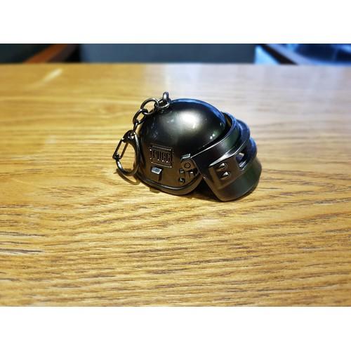 Móc khóa mũ cấp 3_6cm PUBG