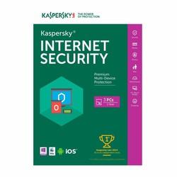 Phần mềm Kaspersky Internet Security 3PC 1 Năm