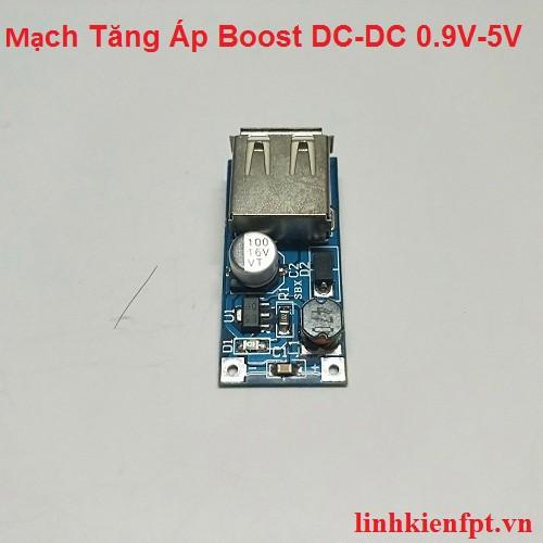 Mạch Tăng Áp Boost DC-DC 0.9V-5V