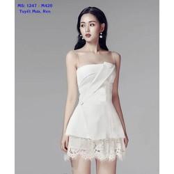 Sét Áo Cúp Ngực Váy Ren Tuyệt Đẹp