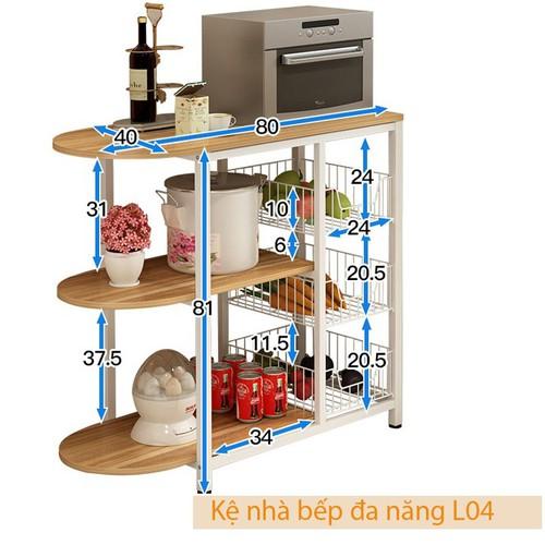 Kệ bếp đa năng|Kệ bếp đa năng gỗ
