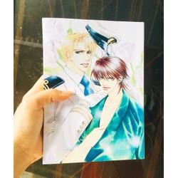 Sách Ficbook Manga Yêu love đồng giá