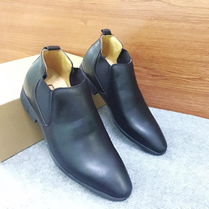 Giày tăng chiều cao nam Chelsea Boot G13D 3