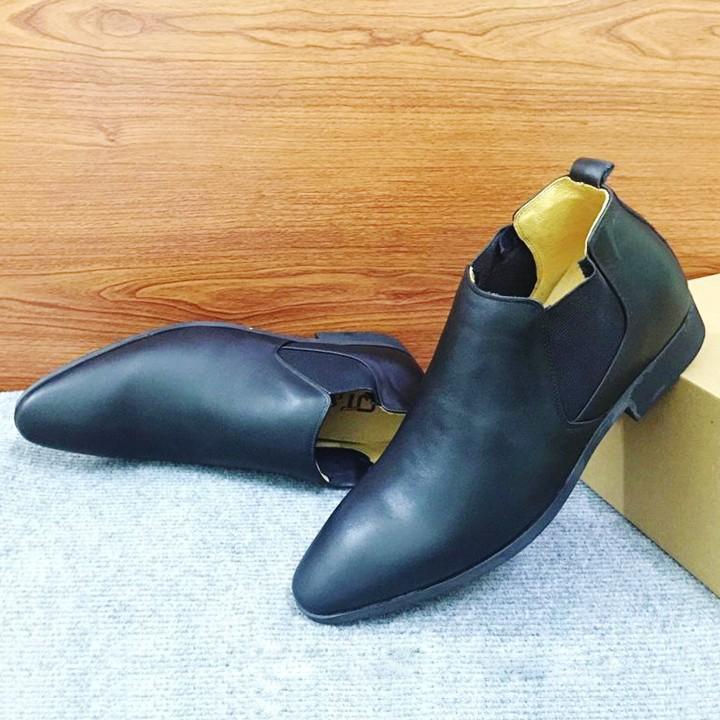 Giày tăng chiều cao nam Chelsea Boot G13D 5