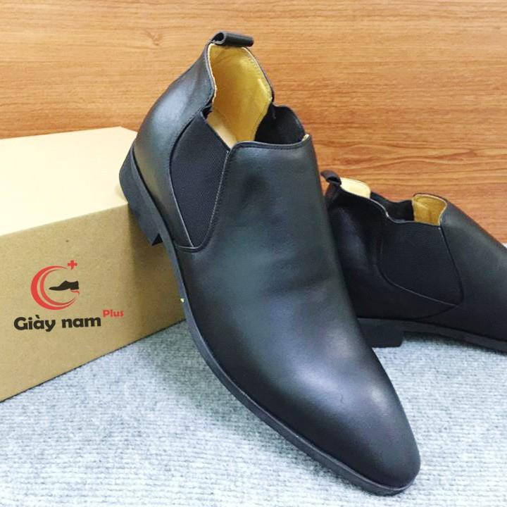 Giày tăng chiều cao nam Chelsea Boot G13D 2