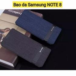 Bao da Samsung Note 8 dạng vải Gcase cao cấp