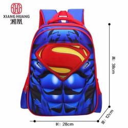 Ba lô siêu nhân Super Man 3D giành cho bé - hàng cao cấp