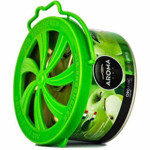 Sáp thơm hữu cơ Aroma Car Organic 40g - Apple - Táo xanh