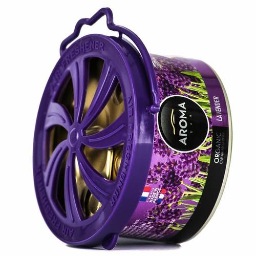 Sáp thơm hữu cơ Aroma Car Organic 40g - Lavender