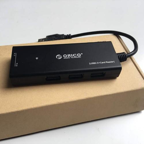 Hub USB tích hợp đầu đọc thẻ nhớ Orico H33TS-U2