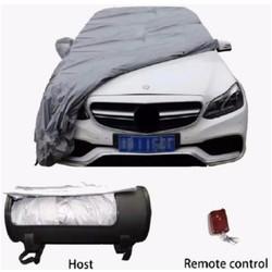 Áo trùm, bạt phủ ô tô tự động ô tô 3xl các dòng xe màu Bạc