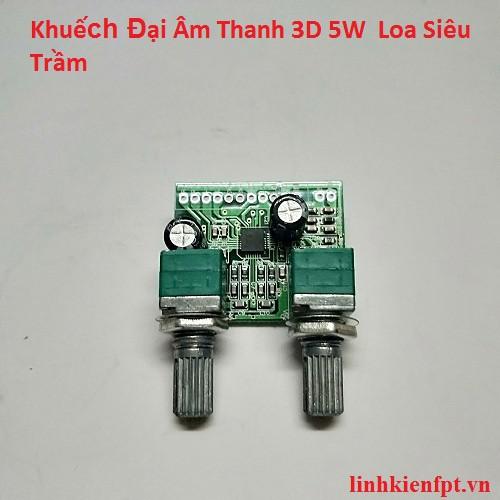 Khuếch Đại Âm Thanh 3D 5W 2.1 Mini Loa Siêu Trầm