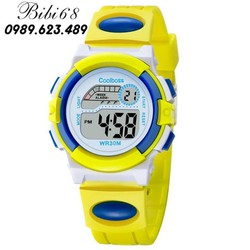 [tặng thẻ ĐT 20k khi mua 3 chiếc trở lên-FREESHIP đơn hàng từ 149k] Đồng hồ trẻ em W03-VX vàng xanh giá tốt