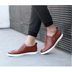 Giày tăng chiều cao nam da cao cấp siêu mềm siêu nhẹ độn cao 7p