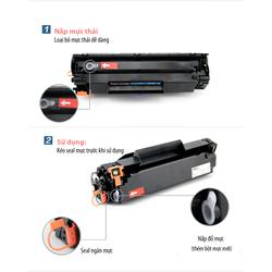 Hộp mực 35A,85A dùng cho Canon 6000,6030,3050,HP 1005,1102-Có lỗ đổ mực