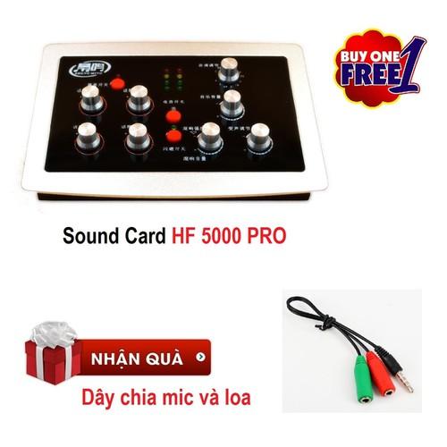 Soundcard thu âm HF 5000 PRO - Auto Tune HF5000 PRO