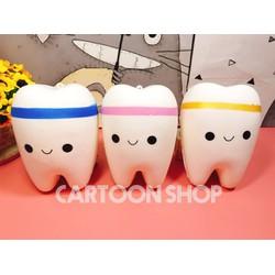 Squishy cái răng dễ thương 11cm