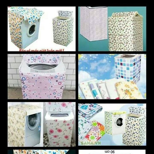 Bọc máy giặt 9kg - 5540517 , 9318287 , 15_9318287 , 90000 , Boc-may-giat-9kg-15_9318287 , sendo.vn , Bọc máy giặt 9kg