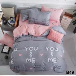 Bộ chăn ga gối giường 1m8x2m
