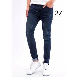 Quần Jeans Nam Xước nhẹ MS 27